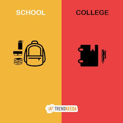 thesis high school vs college comparison and contrast essay high school vs college life